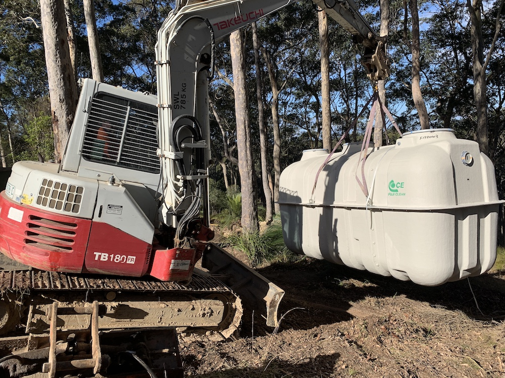 BluenGrey Installing Commercial Septic Systems in NSW