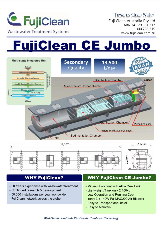 FujiClean CE Jumbo System