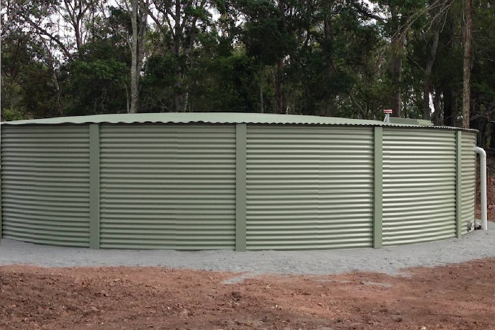 Steel Rain Water Tank by BluenGrey